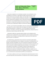 FUNDAMENTOS FISIOLÓGICOS DEL CALENTAMIENTO