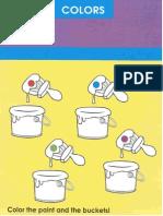 Activity Pad - Unit 1 - Colors