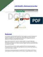 Docker Java App with MariaDB – Deployment in Less than a Minute.pdf
