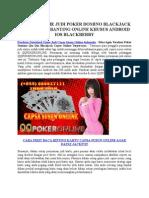 Panduan Download Game Judi Capsa Susun Online Indonesia