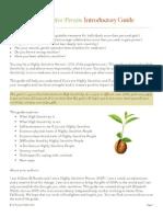 HSP Intro Handbook