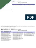 ATT_1445563158483_Draft Exam Time Table (Oct 22)