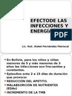 Infecciones Y Energía Det de PROTEÍNAS