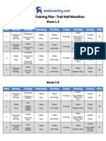 12 Week Trail Half Marathon Training Plan V2