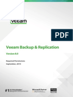 Veeam Backup 8 Permissions
