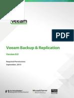 Veeam Backup 8 Permissions
