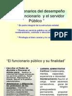Escenarios Del Funcionario Publico Usac