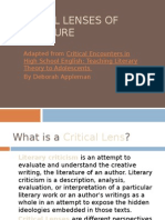 2 critical lenses of literature