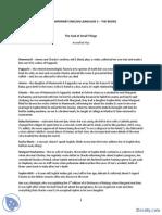 Lektira Za Savremeni Engleski Jezik 3-Beleska-Savremeni Engleski Jezik 3-Engleski Jezik i Knjizevnost PDF
