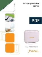 Apertura Puertos Router ZTE ZXHN H298N
