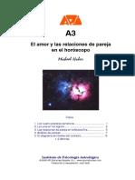 A3-El Amor y Las Relaciones de Pareja-Psicología Astrológica