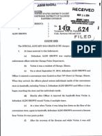 Aldo Brown criminal complaint