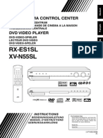 jvc RX-ES1SL - XV-N55SL dvd player home cinema.pdf