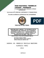 Tesis de Huanuco