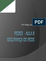 Redes - Aula 8 - Seguranca 2