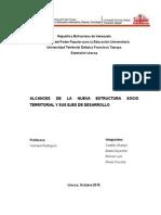 Alcances de La Nueva Estructura Socio Territorial y Sus Ejes de Desarrollo
