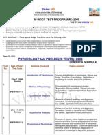 Ias Pre Psychology 20 Mock Test Prog Dec