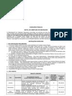 Edital Analista TRE-SP