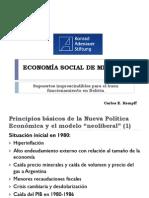 Economía Social de Mercado Presentación