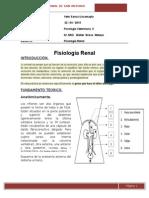informe fisiologias