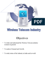 Wire Less Telecom Industry