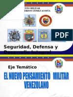 El Nuevo Pensamiento Militar Venezolano Prf Gerson Gómez Acosta