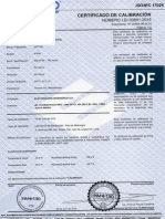 certificado calibracion TELUROMETRO.pdf