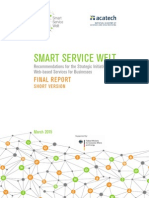 Recommendation for Implementing Smart Service Data