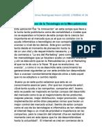 Aplicación del uso de la Tecnología en la Mercadotecnia