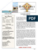 church bulletin 10 25-2015