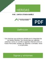HERIDAS presentacion