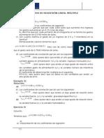 Análisis de Regresión Lineal Múltiple y Cadenas de Markov