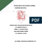 1.3.1 Analisis FODA Juan Jesus R