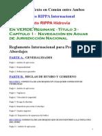 Rippa Integrado Hidrovía y Argentina Act
