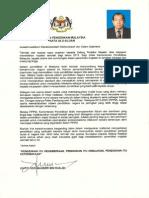 Perutusan Menteri Pendidikan 2015