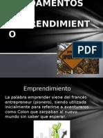 Fundamentos Del Emprendimiento