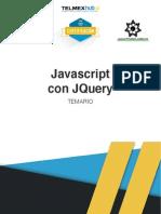 Temario Javascript TelmexHUB