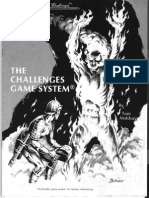 Challenges Game System