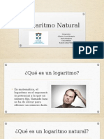 Logaritmo Natural