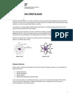 Unidad 2 - Estructuras Cristalinas