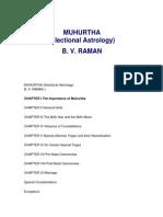 Muhurtha Jyotish Vedic Astrology