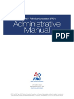 FIRST FRC 2015 Admin Manual