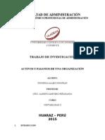 Activos y Pasivos de Una Organización