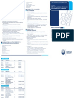 Plan de Estudios Tecnico en Alimentos y Bebidas UNAH