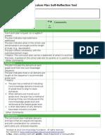 CurriculumPlan_SelfReflectionTool_022014