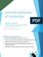 Jamille Cummins, Transworld Group - Innovation Commercialisation
