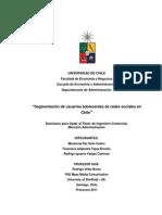 Segmentación de Usuarios Adolecentes de Redes Sociales en Chile