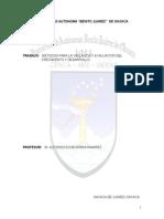 Metodos Para La Evaluacion y Vigilancia Del Desarrollo