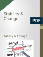 8 Stability Change