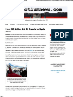 How US Allies Aid Al Qaeda in Syria _ Consortiumnews